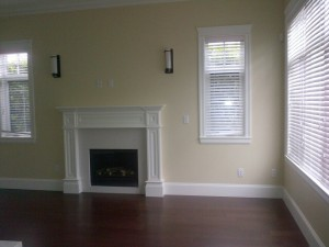 Before Staging - courtesy of Flow Home Staging and Design