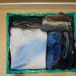 30 t-shirts and 10 pairs of pants! fill-a-FROGBOX
